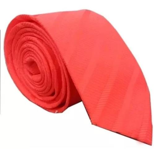 Corbatas - Salmón Labrado Diagonal 8 Cms