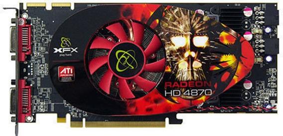 Xfx Ati Radeon 4870 760m 1gb Ddr5 Dual Dvi Pci