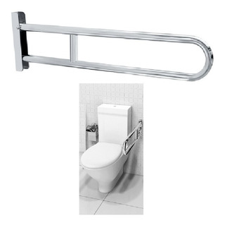 Barra De Apoio Articulável P/ Banheiro De 70cm