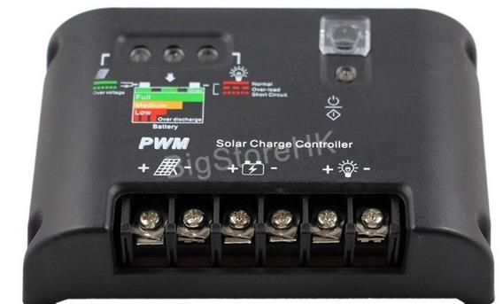 Controlador De Carga 40a Solar 12/24v Regulador