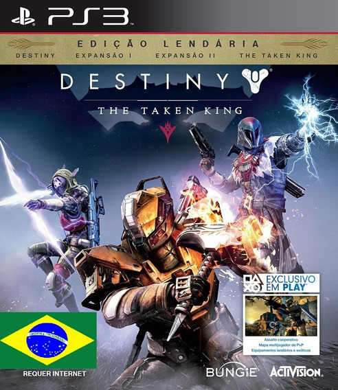 Destiny The Taken King Psn Ps3 Envio Rapido Portugues