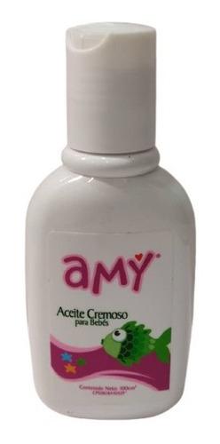 Aceite Cremoso Para Bebes 100 Ml Amy