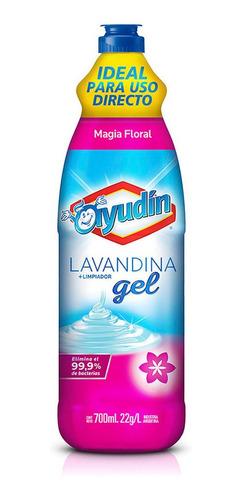 Ayudin Lavandina En Gel Limpiador Aroma Magia Floral X 700ml