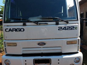 Ford Cargo 2422 2007 6x2 Chassi Longo
