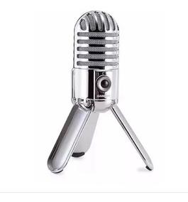 Microfone Condensador Samson Meteor Mic Usb Studio Podcast