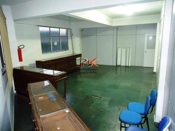 Salão Comercial Com 90 M2 Em Belo Horizonte - Fernão Dias Por 900,00 Para Alugar - 318