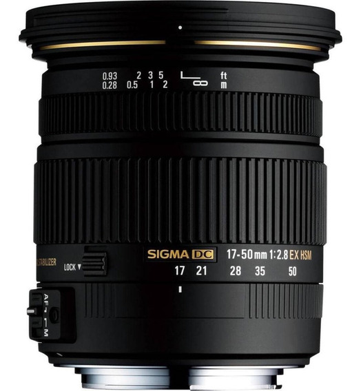 Sigma Af 17-50mm Ex Dc Hsm Para Nikon Usada.