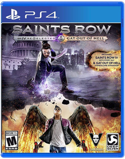 Saints Row 4 Iv Re-elected + Gat Out Of Hell / Ps4