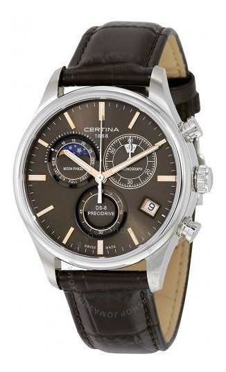 Relógio Certina C033.450.16.081.00 Ds-8 Moonphase Precidrive