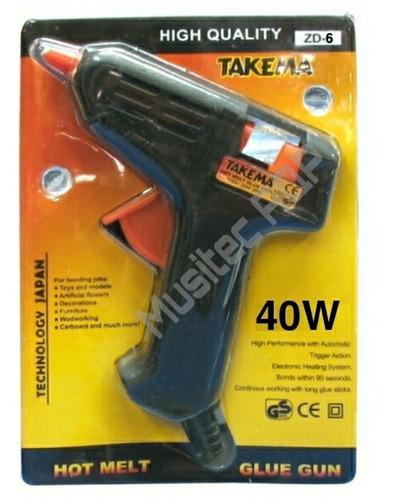 Pistola Silicona 40w 220v Barra Gruesa Takema