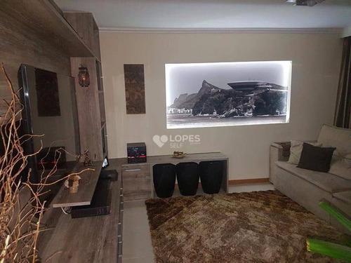 Apartamento Com 3 Quartos, 111 M² Por R$ 714.000 - Vital Brasil - Niterói/rj - Ap34627