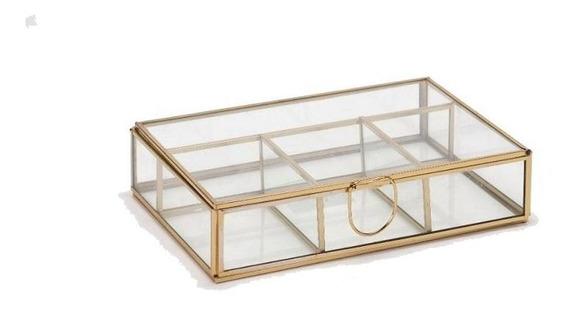 Caja Decorativa De Cristal Këssa Cdmx