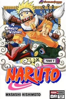 Naruto Tomos Varios - Panini - Masashi Kishimoto