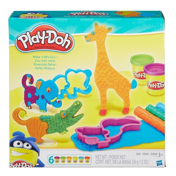 Masa Play Doh Mix Zoo