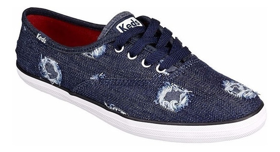 Tenis Casual Keds Azul Jeans
