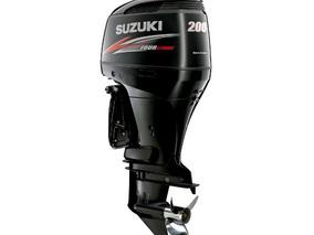 Suzuki Df 200 Zx Fuera De Borda Nuevo 4t Negro