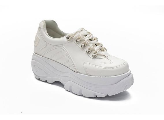 Zapatillas Altas Urbanas Plataforma Mujer Savage Eco Cuero