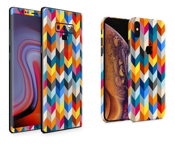 Skin Chevron Apple Samsung Huawei Lg Sony Xiaomi Etc