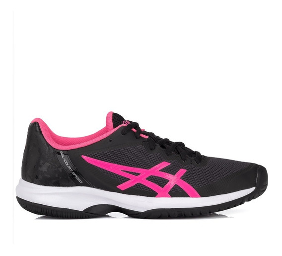 Tênis Asics Gel Court Speed Preto E Pink