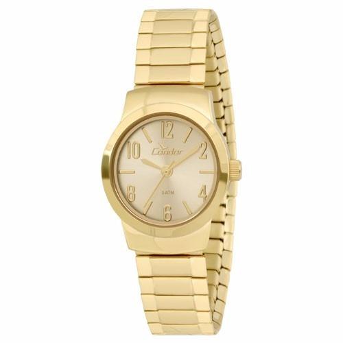 Relógio Dourado Feminino Condor Co2035klf/4x Nota Fiscal