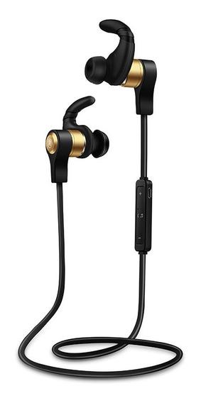 Fone De Ouvido Bluetooth Dourado H3 4.1