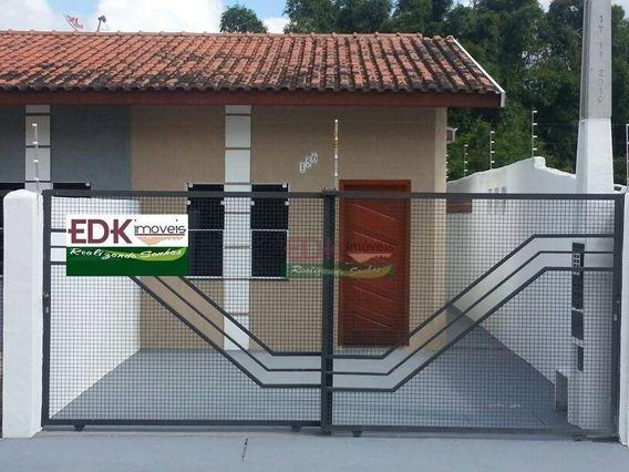 Casa Geminada Residencial À Venda, Santa Isabel, Tremembé. Vale Do Paraíba Sp - Ca1300