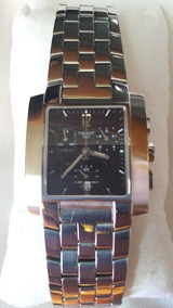 Relógio Tissot Swiss Cristal Safira Aço Inox T60158752