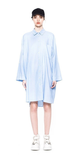 Camisa Harry Rayado Casual Mujer Complot