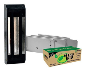 Fechadura Magnética Eletroima Ipec M150 P/ Portas Pivotante