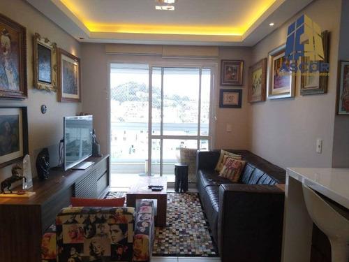 Imagem 1 de 30 de Cobertura Com 3 Dormitórios À Venda, 123 M² Por R$ 960.000,00 - Coqueiros - Florianópolis/sc - Co0351
