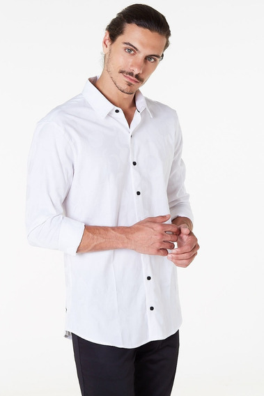 Camisa Tascani Alun Blanco