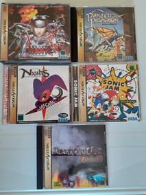 Lote De Jogos Originais Sega Saturno Frete Gratis 12x S/j