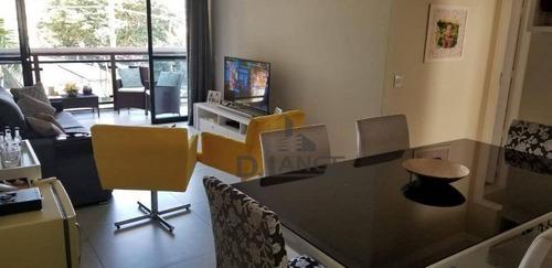 Imagem 1 de 30 de Apartamento Com 3 Dormitórios À Venda, 133 M² Por R$ 850.000,00 - Cambuí - Campinas/sp - Ap18183