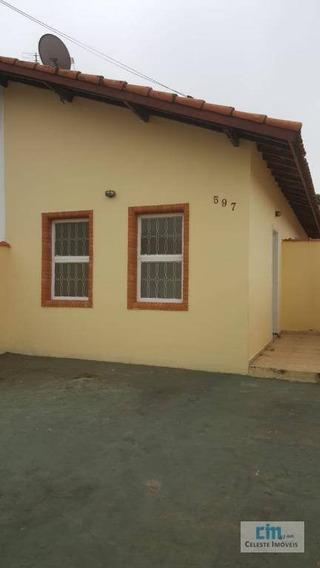 Casa Com 2 Dormitórios Para Alugar, 68 M² Por R$ 1.000/mês - Jardim Egidio Labronici - Boituva/sp - Ca0507
