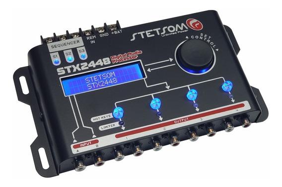 Crossover Automotivo Stetsom Stx2448 Display Digital + Brind
