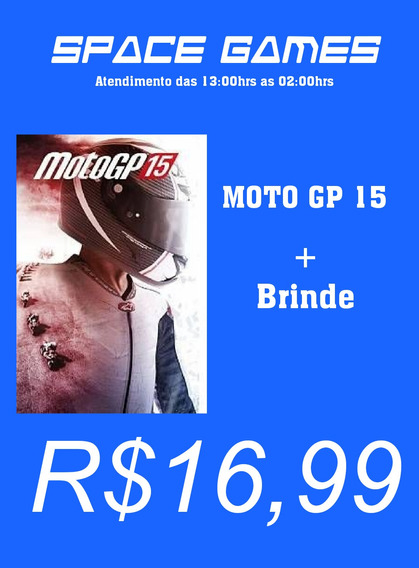 Moto Gp 15.+ Brinde ,- Xbox 360 - Mídia Digital