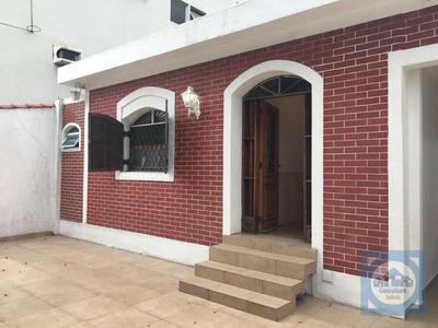 Casa Com 3 Dormitórios À Venda, 170 M² Por R$ 800.000 - Marapé - Santos/sp - Ca0597