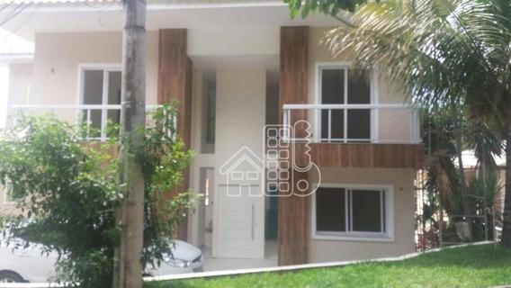 Casa Com 4 Dormitórios À Venda, 280 M² Por R$ 790.000,00 - Maria Paula - São Gonçalo/rj - Ca0506