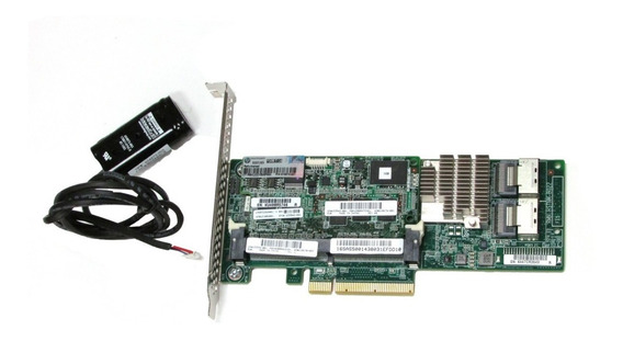 Controladora Raid Sas P420 1gb Bateria 631670-b21 633538-001