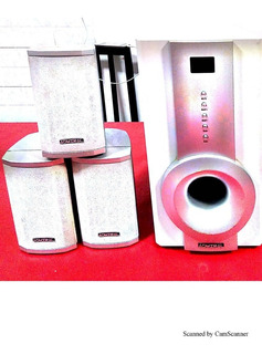 Home Theater Admiral 5.1 Canales
