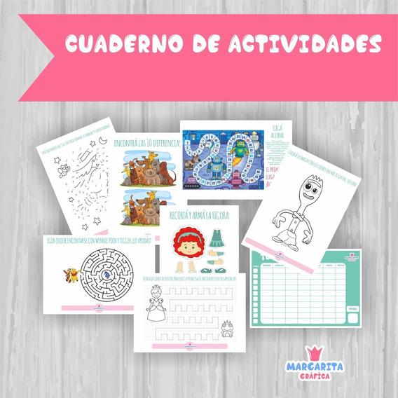 Cuadernos De Juegos Niños Cuarentena