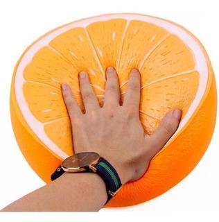 Squishy Super Jumbo Media Naranja Gigante Squishies Kawaii