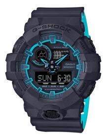 Relógio G-shock Ga-700se-1a2 Layered Neon