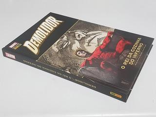 Livro Marvel Deluxe: Demolidor O Rei Da Cozinha Do Inferno