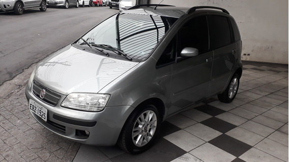 Fiat Idea Elx 1.4 Flex 2009 Cinza 89.000 Km