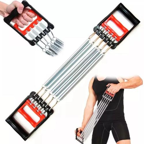 Imagem 1 de 4 de Extensora Com Mola Musculaçao Ombro Triceps Antebraço Biceps