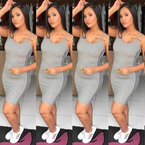 66958bf995 Vestido Cinza Curto Colado - Vestidos Longos no Mercado Livre Brasil