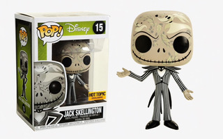 Funko Pop Jack Skellington #15 Hot Topic Exclusive Firewolf