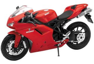 Moto Coleccion New Ray Ducati 1198 Escala 1:12 Solomototeam
