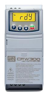 Inversor Frequência Weg Cfw300 1cv 220v 4,2a Mono/tri